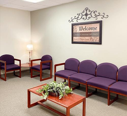 Waiting Room at SAMA Bariatrics